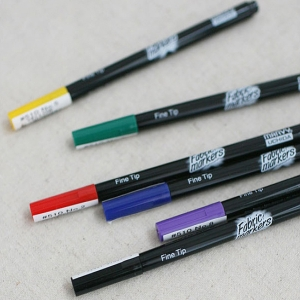 패브릭 펜[6color]28254