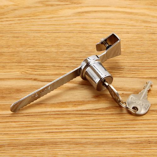 슬라이딩록크(유리 진열장용 자물쇠)