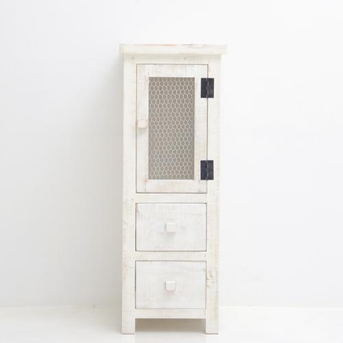 리치 뉴질랜드소나무 수건장(white)