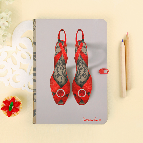 [CVD] JOURNAL 포켓노트 - COCKTAIL SHOES (CS0004)
