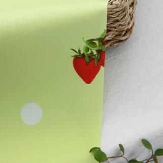 방수천]대폭딸기&도트(연두)34603_(334