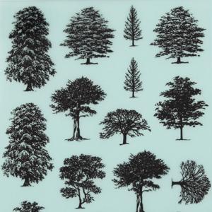 레터링지 나무 (규격/색상선택)