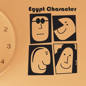 라이프스티커_이집트 캐릭터 4