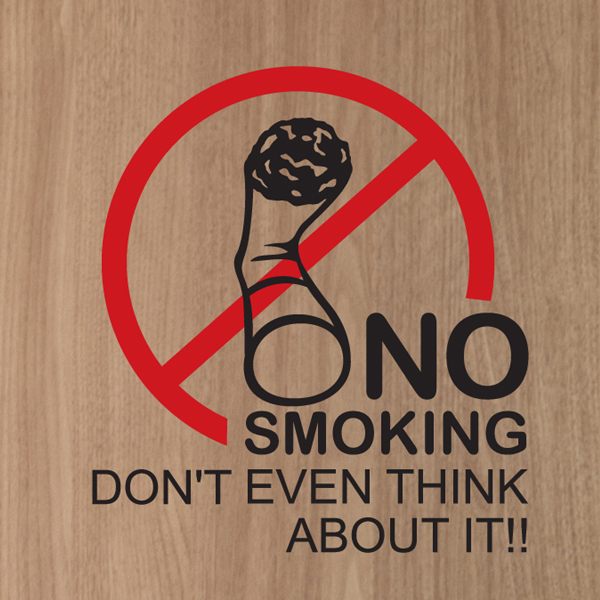 라이프스티커_NO SMOKING AREA