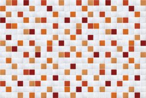 어반 타일시트지 오렌지(DPS-67)