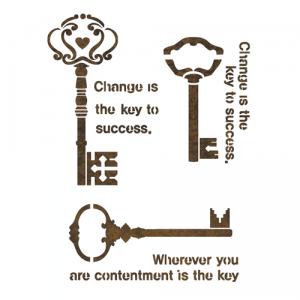 스텐실 도안_keys