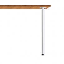 테이블다리/가구다리 원형 포인트 (40Ø) 화이트