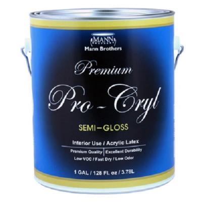 실내 문 및 가구용 Pro-Cryl (Semi-Gloss/반광)
