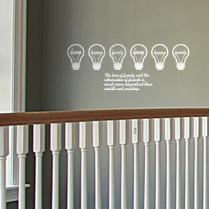 [PI20]밝은조명 - 금전운 재운 그래픽스티커 풍수인테리어 월데코 포인트