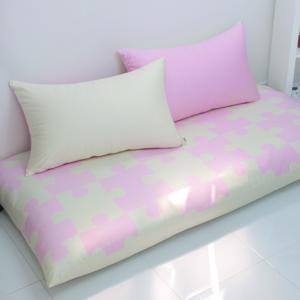 퍼즐 대방석 set-베이비 핑크