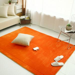 메모리폼 러그 사각(200*150)-오렌지