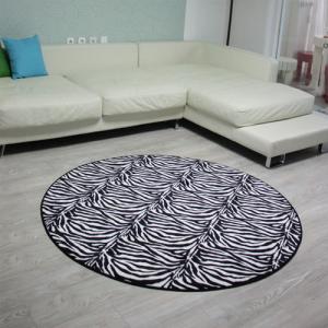 지브라 러그 - 원형(2color)