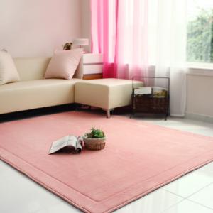 메모리폼 러그 사각(200*150)-핑크