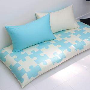 퍼즐 대방석 set-베이비 블루
