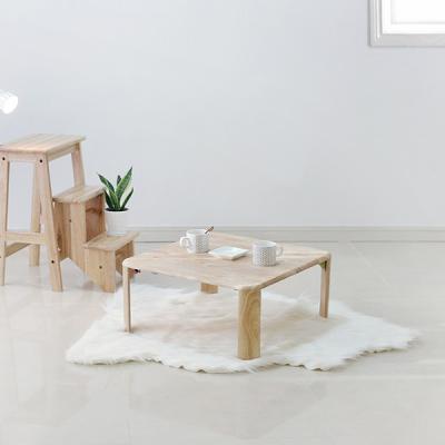 [벤트리]원목 접이식 브런치 테이블 中 Size