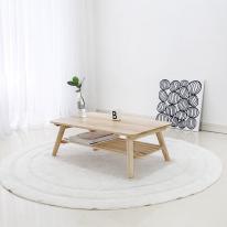 [벤트리]원목 접이식 좌식 테이블 750 size