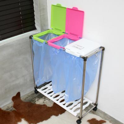 재활용분리수거함 3P