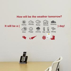 그래픽스티커 - 내일날씨
