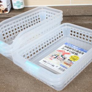냉장고 정리바스켓(대2P+소2P) 총4P세트