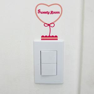 [itstics-Cherish] 스위치스티커_sweety room