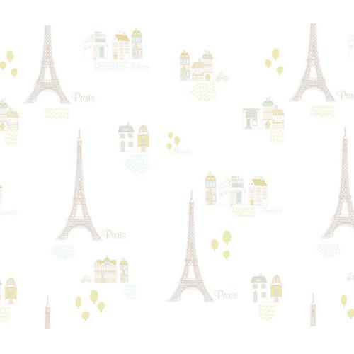 [포인트벽지시트지] 에펠탑(HWP-21482)
