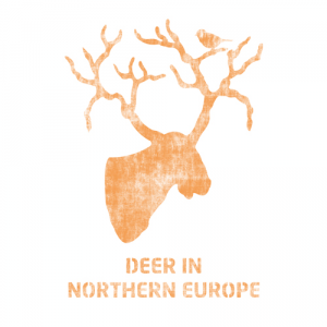 스텐실 도안_북유럽사슴(A4/A3)