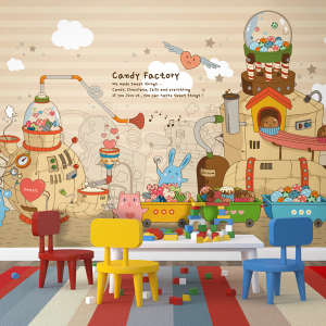 뮤럴_Candy Factroy