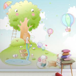 어린이 기성벽지 kid-010-w