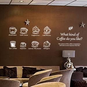 어떤 커피를 제일 좋아하세요? [인테리어스티커/매장스티커]