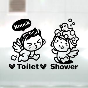 아기천사_toilet_shower [포인트스티커/화장실스티커]