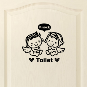 아기천사_toilet [포인트스티커/화장실스티커]