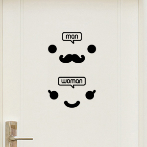신사숙녀_toilet [포인트스티커/화장실스티커]