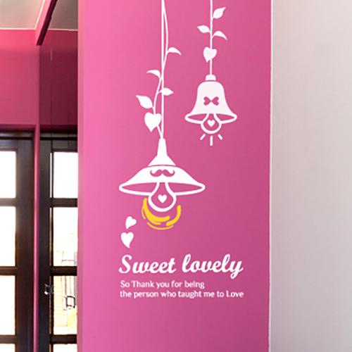 Sweet lovely [인테리어스티커/매장스티커]