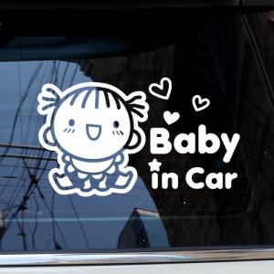 Baby in Car_베이비 러블리 [자동차스티커/아기가타고있어요]