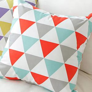 스칸딕 트라이앵글 데코 방석,쿠션(3color)