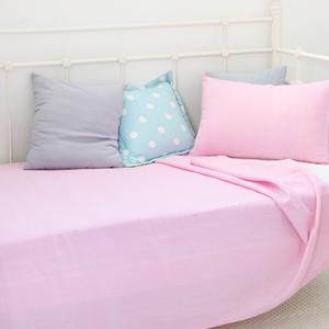 파스텔홑이불-핑크