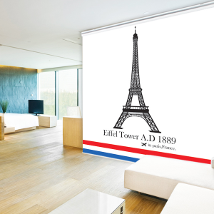 일러스트롤스크린_에펠탑
