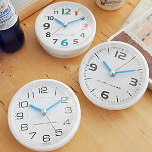 포인트 욕실방수시계(3color)