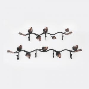 나뭇잎 단조옷걸이(2Type)