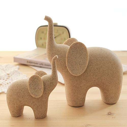 둥근귀 코끼리 2size