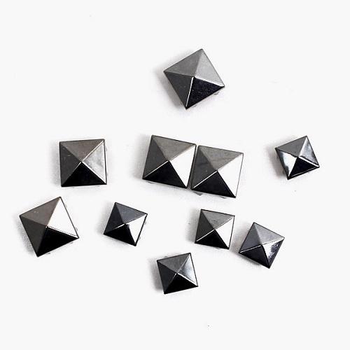 [와펜][패치]st004 흑니켈 피라미드(3size)