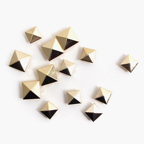 [와펜][패치]st005 골드 피라미드(3size)