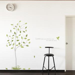 그래픽스티커 - 새와 나무 05