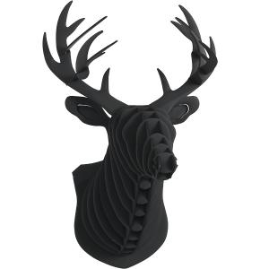 사슴머리장식(블랙)