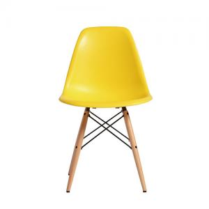 디자인체어 PW-110 (Yellow) 1+1