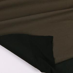 면스판]다빈치 기모본딩 무지-카키 60316