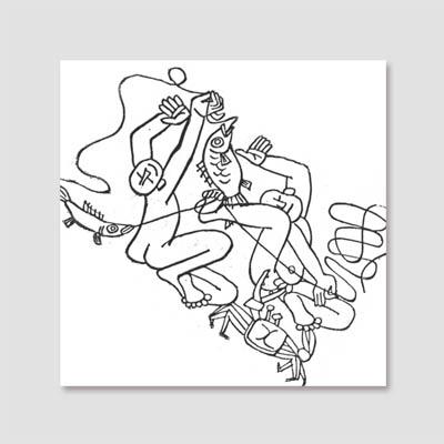 [시즈팝 캔버스아트] CAS161-LJS-05-이중섭-무제