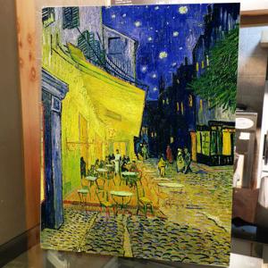 [시즈팝 캔버스아트] CAS106-VG-07-고흐-아를르의 포룸 광장의 카페 테라스