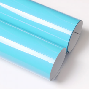 유광 칼라시트지 (3501 Powder Blue)