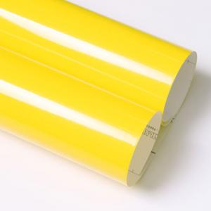 유광 칼라시트지 (3304 Lemon Yellow)